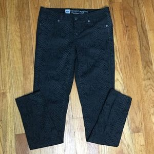 Mossimo Supply Co. Jeans - Mossimo 6 Black Leggings Jeans Pants Denim Stretch